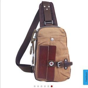 Cool and functional TSD hidden woods sling bag
